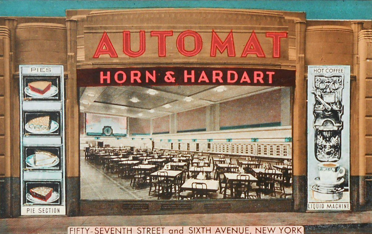 Horn Hardart Automat New York City 57th Street