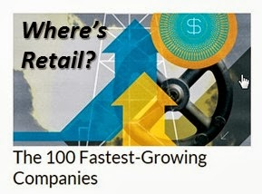 Where's Retail? - The 100 Fastest Growing Companies