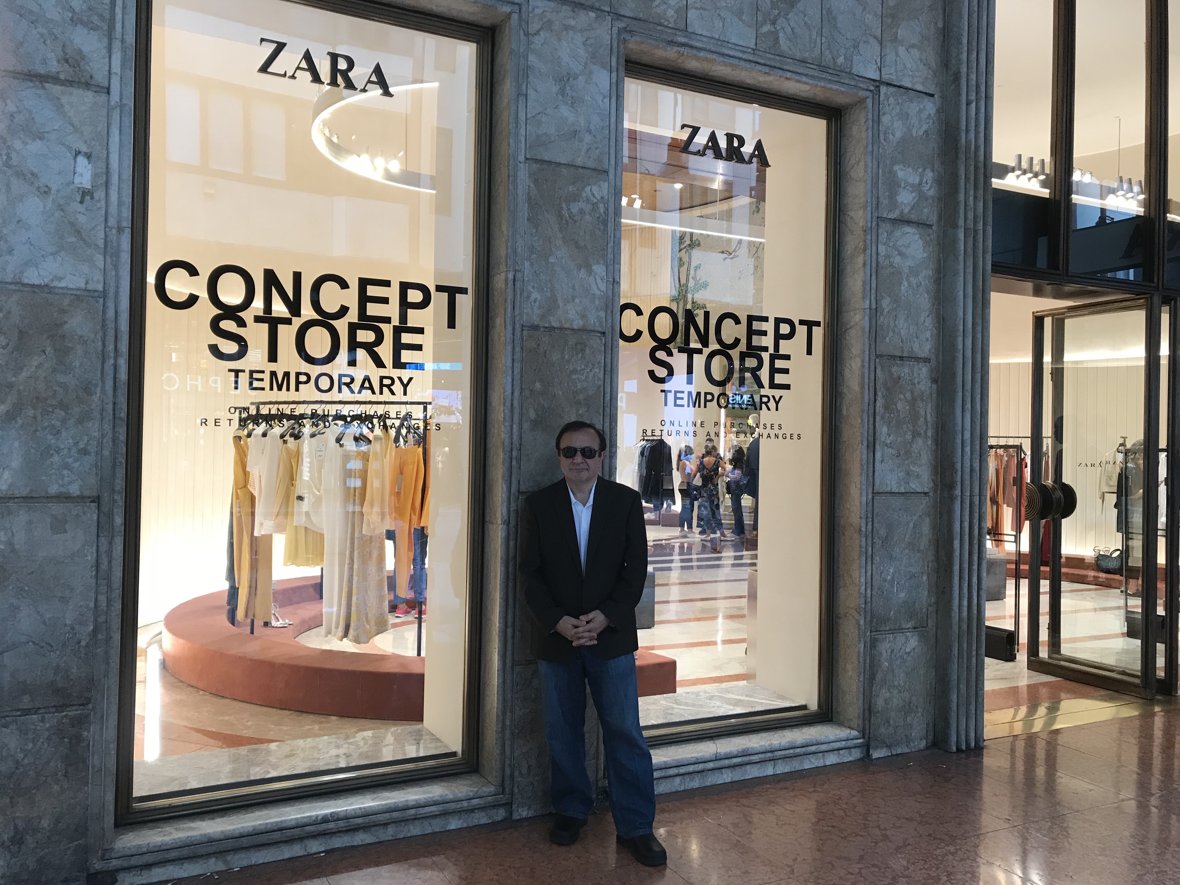 4958988f8c This past week had the pleasure of visiting the new Zara Concept Store in  Milan, Italy. Located near to the Galleria Vittorio Emanuele II, one of the  oldest ...