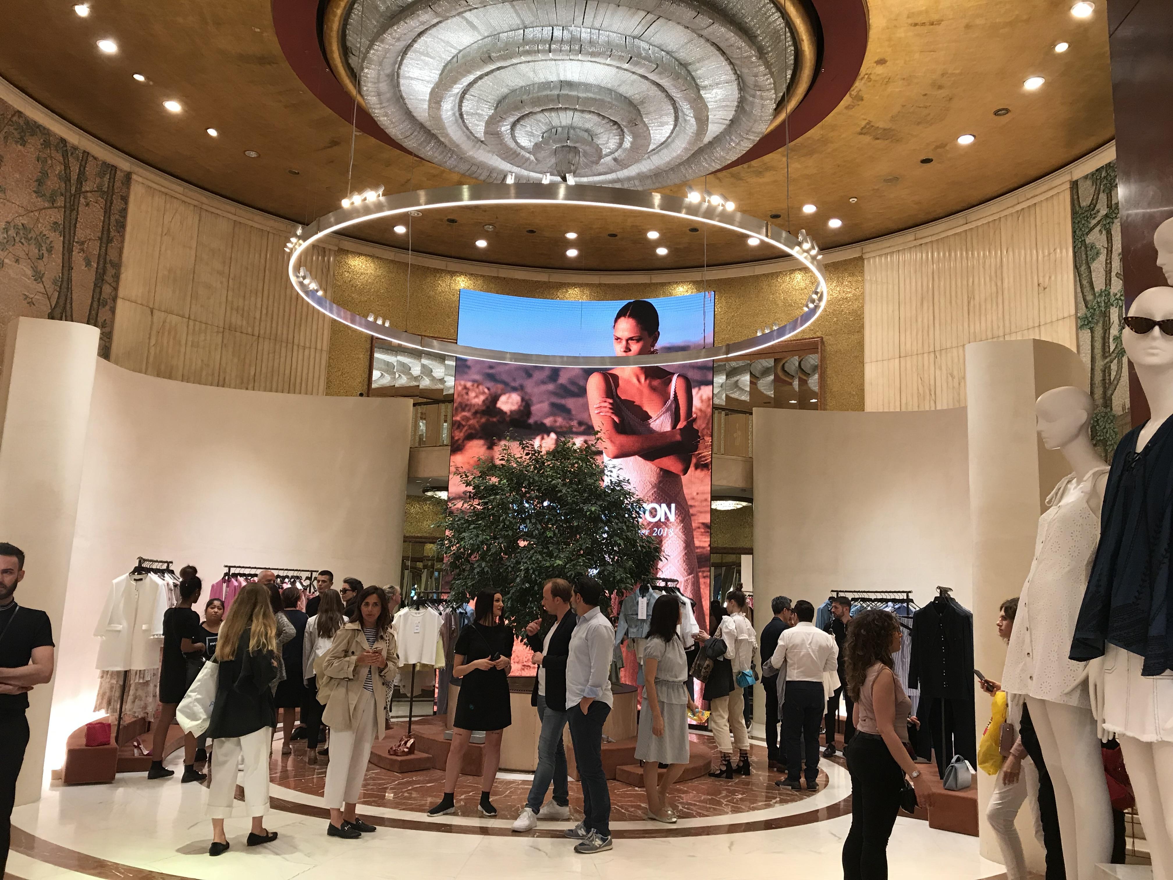 62622a9cf Zara's New Concept Store Showcasing Fast Fashion Future of Retail ...