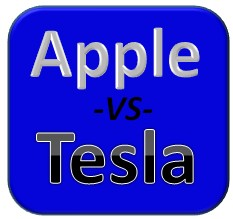 apple vs tesla