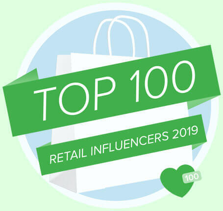 Top 100 retail influencer
